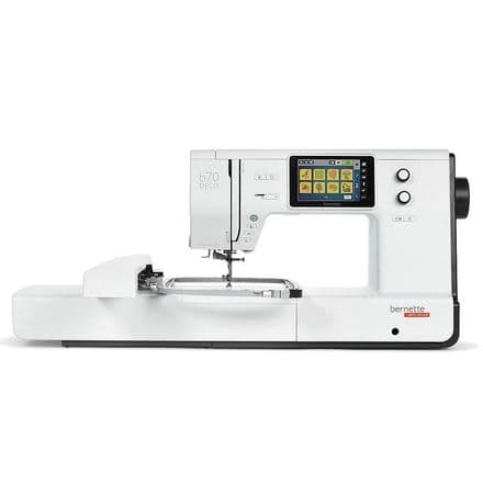 BERNETTE B70 DECO EMBROIDERY MACHINE
