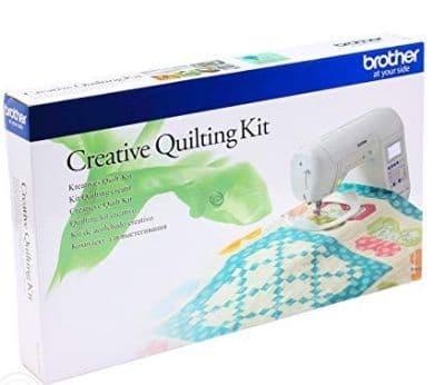 BROTHER CREATIVE QUILT KIT for Brother F420 and F480.