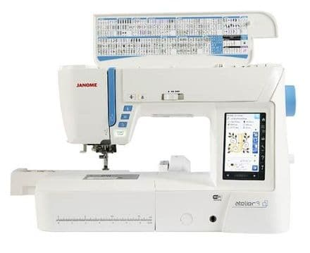 JANOME ATELIER 9 SEWING MACHINE