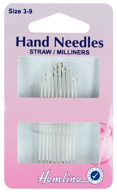 STRAW/MILLINERS HAND NEEDLES
