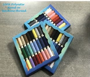 0 599     Assorted sewing threads