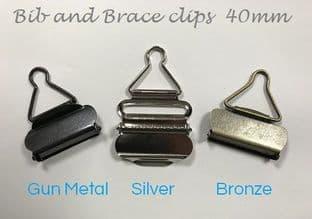 0  Bib & Brace Buckles 20 Piece Bag