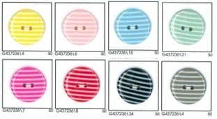 0 G4372 Striped Colour Button