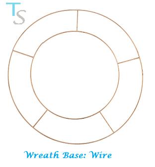0  Wreath Base: Wire