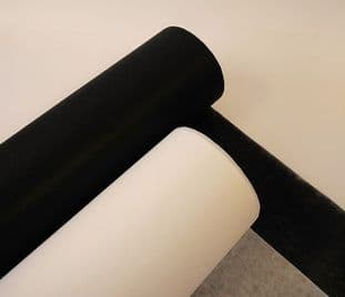 00 Sew-On Interfacing: 68cm x 50M Roll - Light, Medium, & Heavy - Choice of Colour