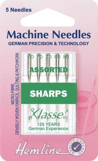 0H105.99 Sharp/Micro Machine Needles: Mixed