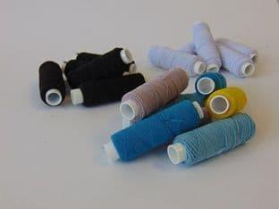 0A00431 Shirring Elastic - 25pk or 100pk - Choice of Colours