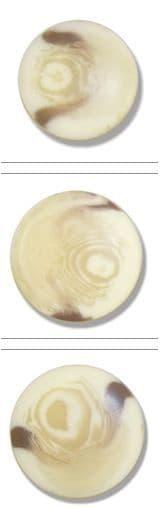 0G2327 Aran Shank Button: 36 lignes/23mm: Natural