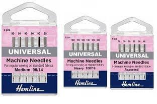 0H100.110 Universal Machine Needles: Heavy 110/18