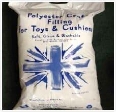 0K00082 Toy Filling/Stuffing - 10 X 250g