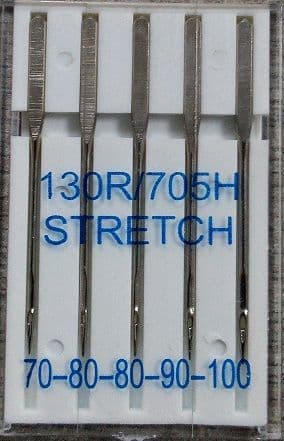 130705 Machine Needles Stretch Assorted