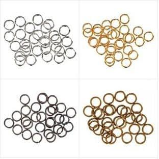 263\ Jump Rings: 5mm: 5 Packs of 30 - Full Colour Range