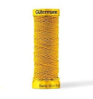 2T10E Gutermann Elastic Thread: 10m - Choice of Shades