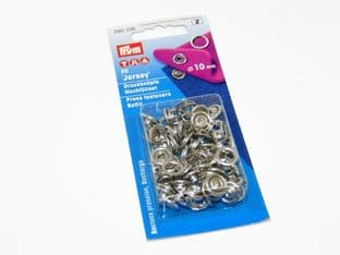 390106: Silver - Ring Top, 10mm - 20 Sets