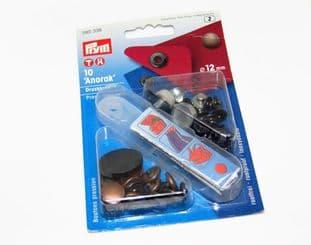 390336: Antique Copper - 12mm - 10 Sets