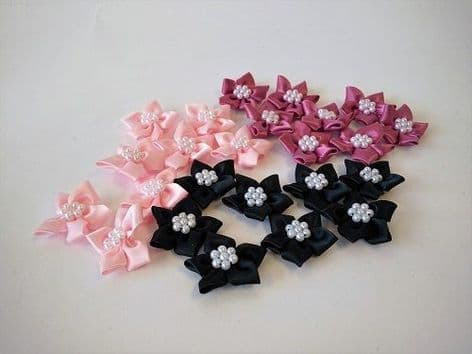 423-16 Satin Stars with Pearls - Full Colour Range