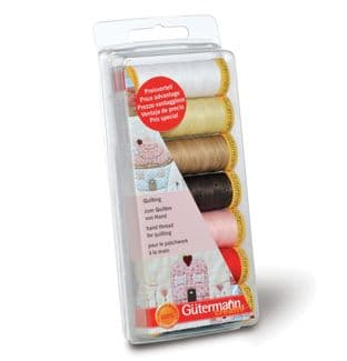 731188\1 Gutermann Thread Set: Hand Quilting: 7 x 80m