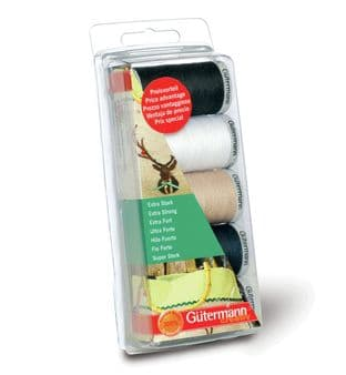 731307\1 Gutermann Thread Set: Extra Strong: 7 x 100m