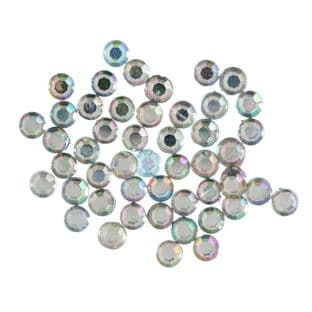 CB145X Clip or Sew-on Crystals: Heart: 12mm: 5 Packs of 6