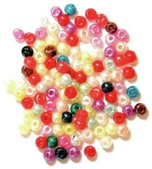 CF01\353 Pearls: 3mm: 5 Packs of 7g - Full Colour Range