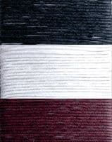 CF01\556 Cotton Waxed Cord: 5 Packs of 2m x 1mm