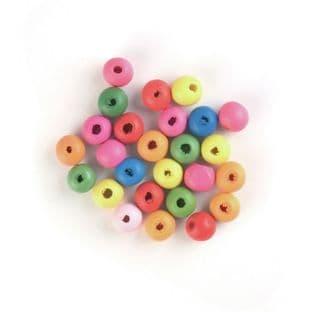 CF151 Beads: Wooden: 10mm: 15g