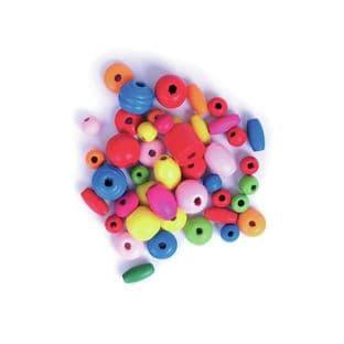 CF196 Wooden Beads: 5 Packs of 20g