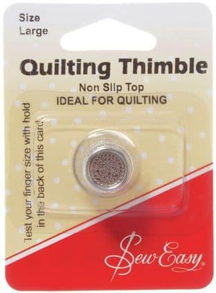 ER300L Non Slip Thimble Large - Sew Easy