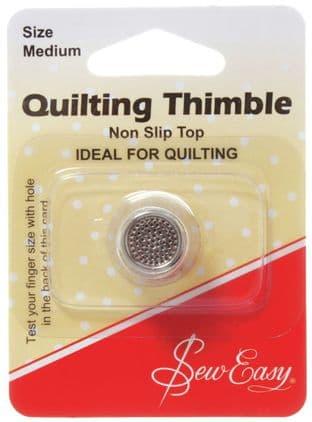 ER300M Non Slip Thimble Medium - Sew Easy