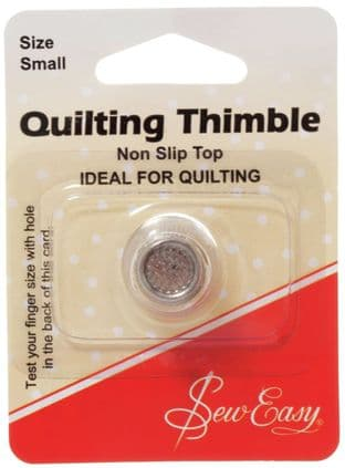 ER300S Non Slip Thimble Small - Sew Easy