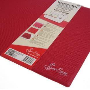 ER905.RED Slip Reduction Mat: Sewing Machine