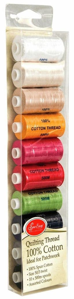 ET10 Quilter's Thread Pack 10 x 500m