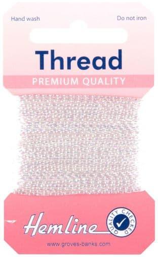 H1002\23 Glitter Thread: 10m - Iris