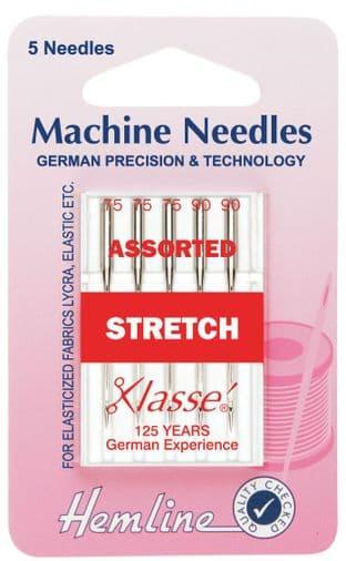 H102.99 Stretch Machine Needles: Mixed