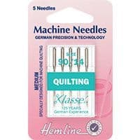 H106.90 Quilting Machine Needles: Size 90/14