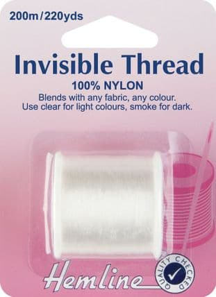 H240 Invisible Thread: Clear - 200m