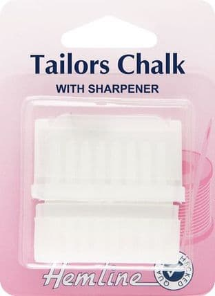 H246 Tailors Chalk with Sharpener