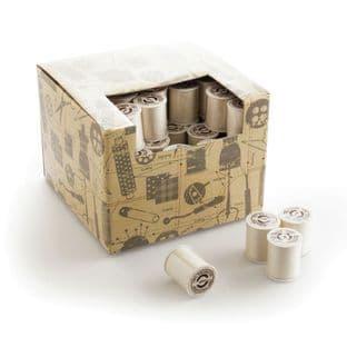 HB.T160.CRE Cotton Reel Display: Cream