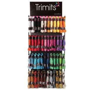 IMPTRWPF Trimits: Embroidery Floss Wall Panel Display