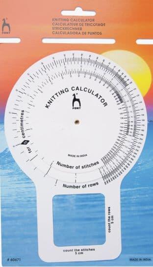 P60671 Knitting Calculator