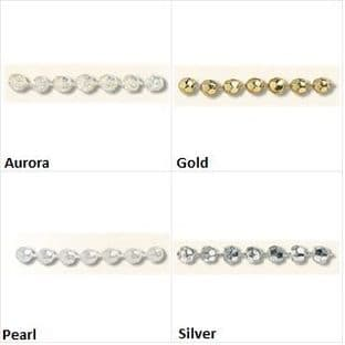 Pearl Beading: Faceted: 20m x 4mm - Full Colour Range