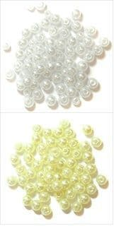 Pearls: 2.5mm: Full Colour Range - Choice of Pack Size