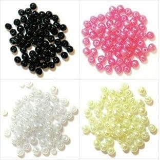 Pearls: 5mm: Full Colour Range - Choice of Pack Size