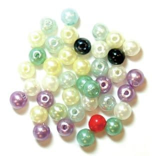 Pearls: Assorted Pastel: Choice of Pack Size