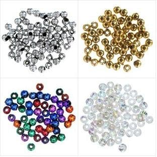 Plated Beads: 5mm - Full Colour Range - Choice of Pack Size
