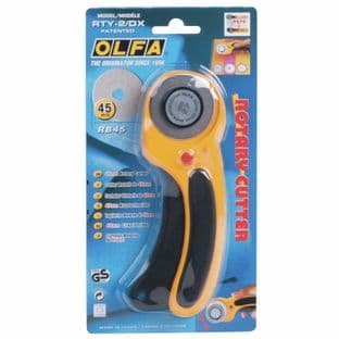 RTY-2\DX olfa  Rotary Cutter: Deluxe Retracting 45mm