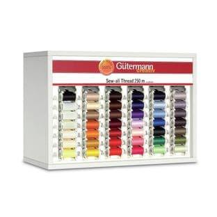 SVKA60/3 Gutermann Cabinet (White): Sew-All 250m