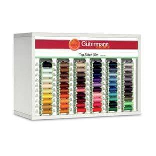 SVKA60/6 Gutermann Cabinet (White): Top Stitch 30m