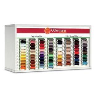 SVKA80/13 Gutermann Cabinet (White): Top Stitch & Extra