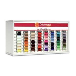 SVKA80/3 Gutermann Cabinet (White): Sew-All 250m